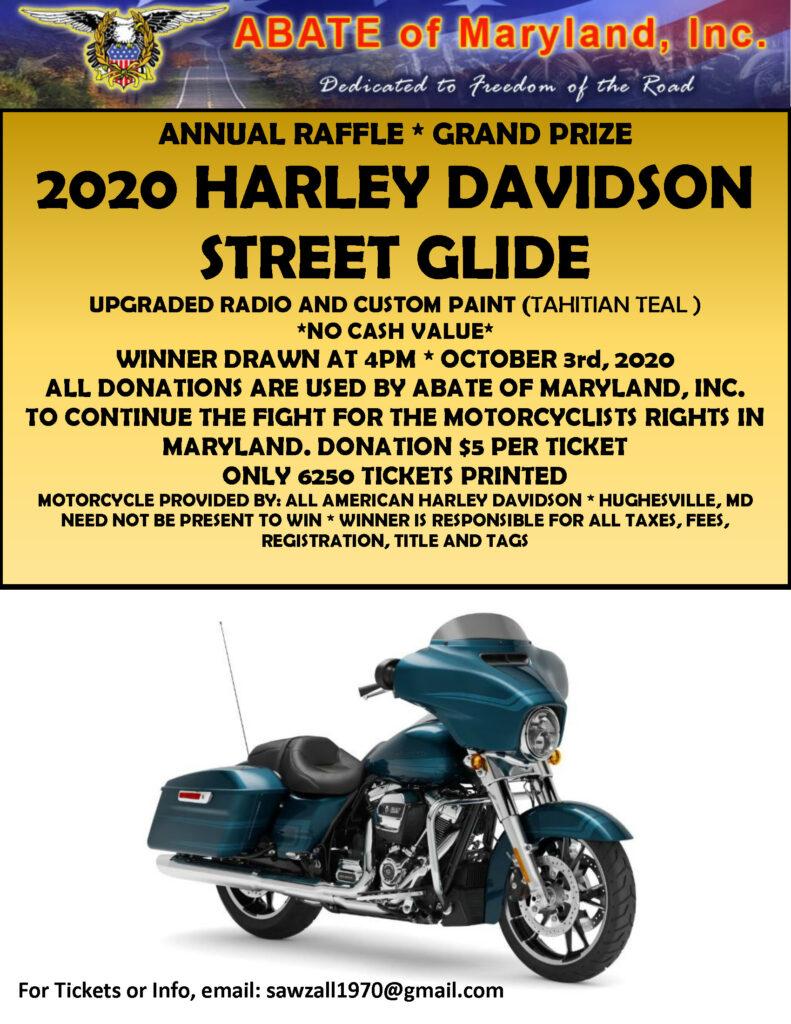 2020 Raffle Bike